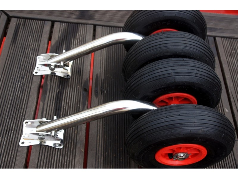 транцевые колеса для солар 350