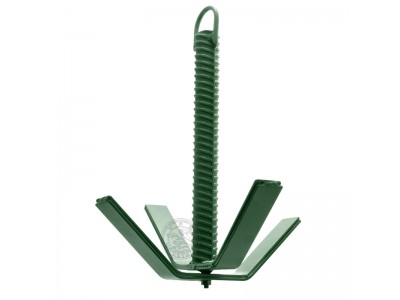Якорь складной (зелёный) 4 кг