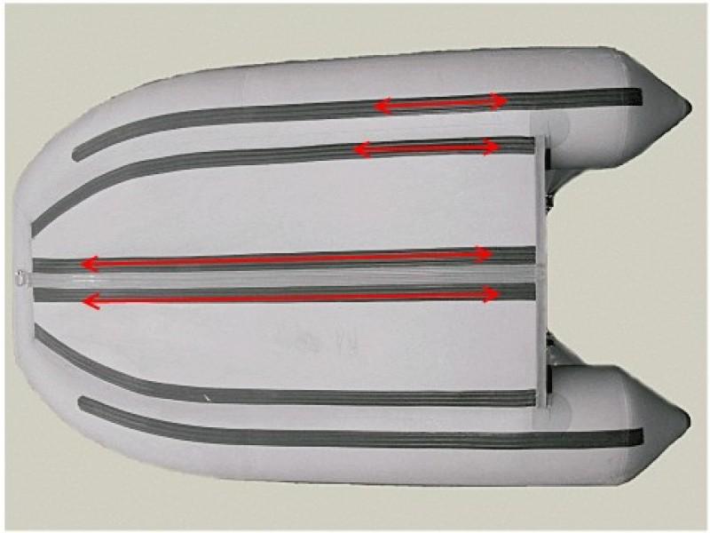 защита днища лодки пвх видео