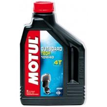 Масло Motul OUTBOARD TECH 4T 10W-40 (2 л.)