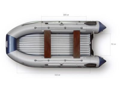 Надувная лодка пвх Флагман 420