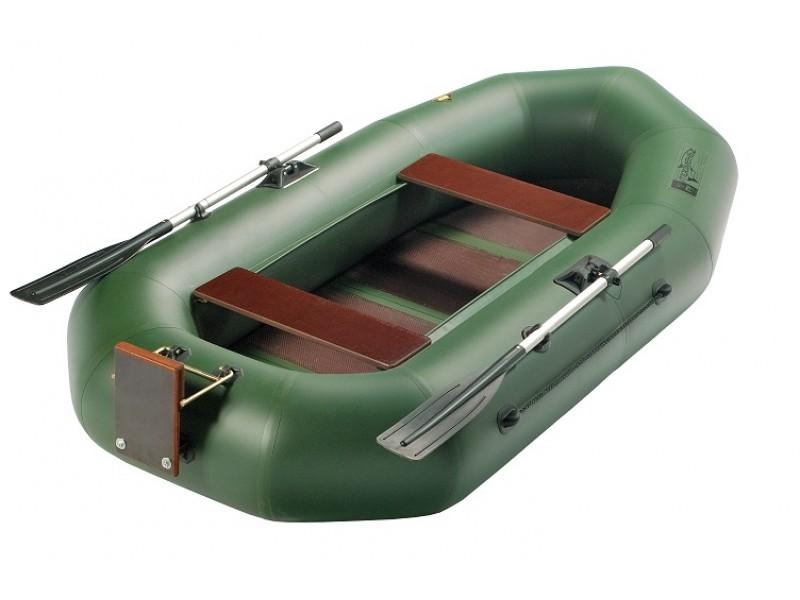 дешевая лодка с навесным транцем