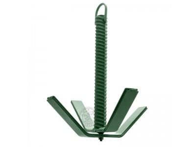 Якорь складной (зелёный) 3 кг